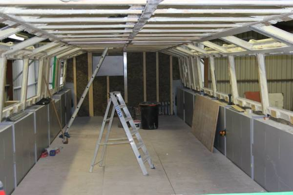Copper Jack - Starting the internal fit out