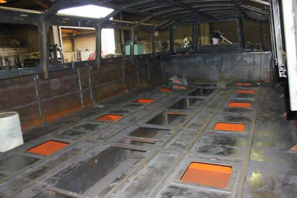 Copper Jack - Underfloor buoyancy tanks
