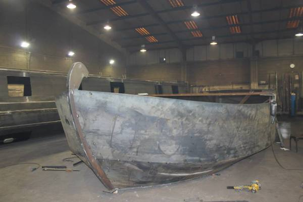 Copper Jack - The hull is starting to take shape