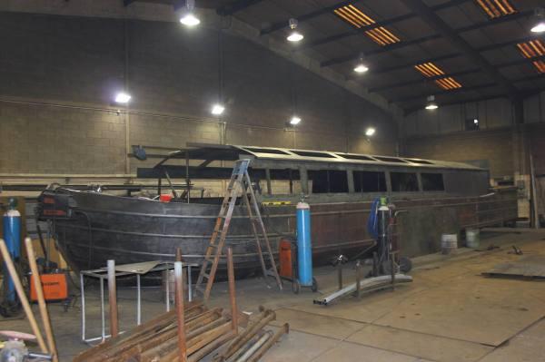 Copper Jack - Building the passenger cabin
