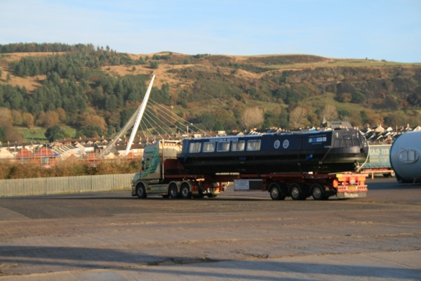 Black Prince leaving Swansea for a new home - 2013