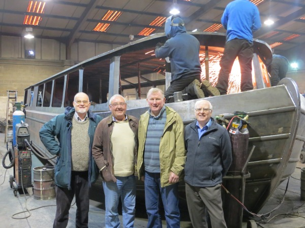 Copper Jack - Inspection by some of the SCBT board members