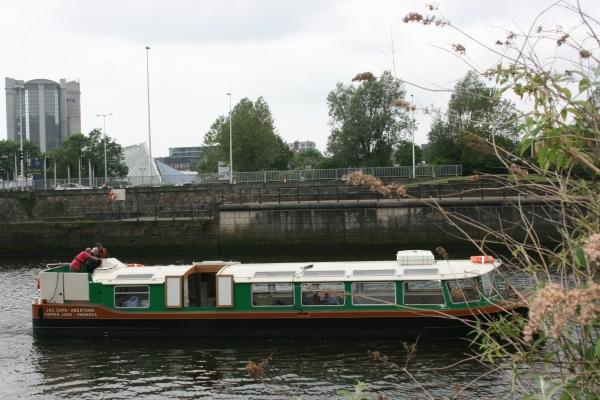 Copper Jack heading upstream