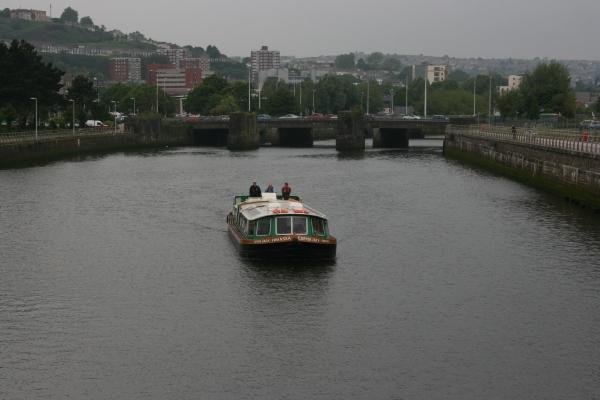 Copper Jack approaching Sail Bridge