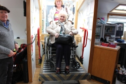 Copper Jack's wheelchair lift